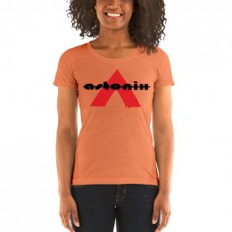 Large Astonix Tri-blend Tee(Orange)8413