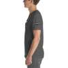 Asphalt Gray Astonix 3001 Unisex Short Sleeve Jersey T-Shirt