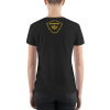 Black Astonix 3005 V-Neck Tee (Charcoal black)
