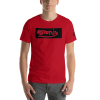 Red Crew neck Astonix-t-shirt Atwk #112