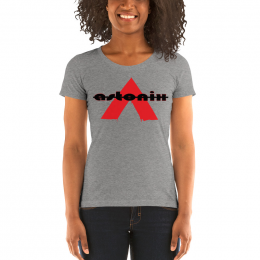 Large Astonix Tri-blend Tee(Grey)8413