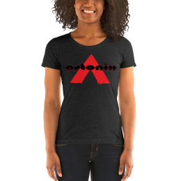 Large Astonix Tri-blend Tee (Charcoal Black)8413