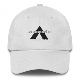 Astonix Cap w/ U.S. flag attached on back (Color: White)